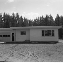 Image of New Construction - New construction, June 1960, likely in or near Bemidji.