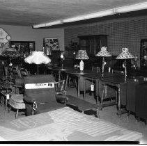 Image of Reuter Furniture, Bemidji 1960 - Reuter Furniture Mart, 104-108 Thrid St., Bemidji. June 1960