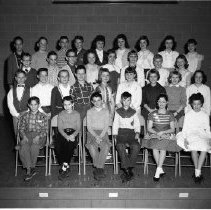Image of J. W. Smith School Class - J. W. Smith School, Bemidji February 24, 1960