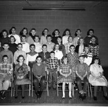 Image of J.W. Smith School, Class Picture - J.W. Smith School, Bemidji, Class Picture, February 24, 1960