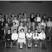 Image of J.W. Smith School, Class - J.W. Smith School, Bemidji Class, February 24, 1960