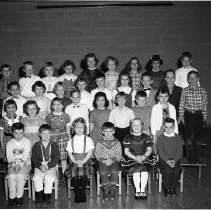 Image of J.W. Smith School, Bemidji Class - J.W. Smith School, Bemidji Class, February 24, 1960