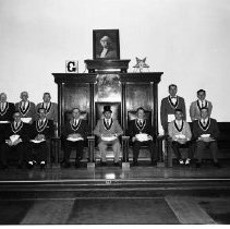 Image of Masonic Temple Officers