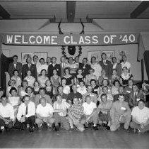 Image of Bemidji High School Class Reunion, Class of 1940 - Bemidji High School Class Reunion, Class of 1940, September 6, 1960 (3 negatives)