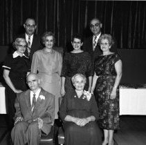Image of Suman Family, 50th Wedding Anniversay Aug 23, 1959 - Abe Suman Family, 50th Wedding Anniversay Aug 23, 1959