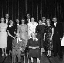 Image of Suman Family, 50th Wedding Anniversay Aug 23, 1959 - Suman Family, 50th Wedding Anniversay Aug 23, 1959