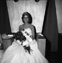 Image of Bemidji Jaycees Carnival 1959 - Bemidji Jaycees Water Carnival Queen July 1959 Miss Bemidji.  Rochelle Hazen, a Bemidji State College student.