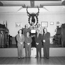 Image of Elks Club, Bert Larson Program - Elks Club, Bert Larson Program, Bemidji, May 10, 1956