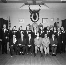 Image of Elks Club, Bemidji Initiation - Elks Club, Bemidji initiation, April 28, 1956