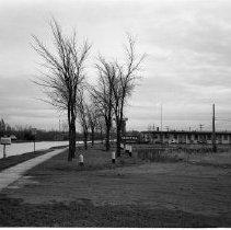 Image of Midway Drive, Midway Motel - Midway Motel, Midway Drive, Bemidji November 5, 1955 (2 views).