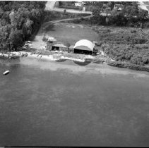 Image of Moberg Seaplane Base, Sept 18, 1956 - Moberg Seaplane Base, Bemidji Sept 18, 1956 