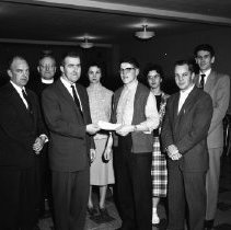 Image of Knights of Columbus, St. Philip's Church, Bemidji, 1960 - Knights of Columbus, St. Philip's Church, Bemidji, January 21, 1960