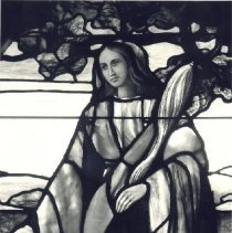 Image of Asbury Church Stained Glass Window