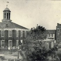 Image of Photo0012.jpg - Third Rockingham County Courthouse and Court Square,  1833-1874.
