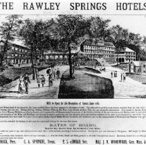 Image of Photo0016.jpg - Advertisement for the Rawley Springs Hotel.
