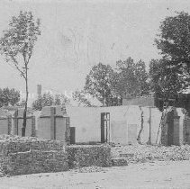 Image of Photo0026.jpg - Ruins of Fourth Rockingham County Court House