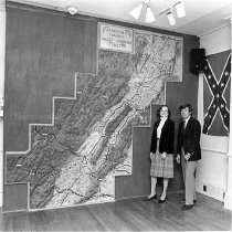 Image of Photo0031.jpg - Electric map of Stonewall Jackson's Valley Campaign  1978-1984