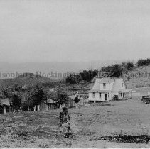 Image of Photo0089.jpg - Filling station and the surrounding out buildings on Shenandoah Mountain