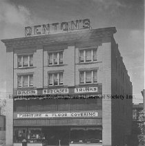 Image of Photo0124.jpg - Denton's Furniture store  on the south west corner of Court Square in Harrisonburg