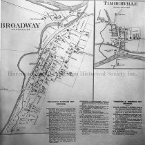 Image of Photo0125.jpg - Map of Timberville and Broadway