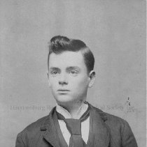 Image of Photo0135.jpg - Young man with dark hair in suit and tie for studio photo