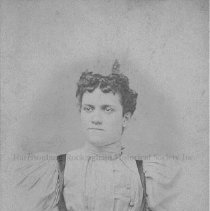 Image of Photo0137.jpg - Young woman with dark hair in white shirt for studio photo