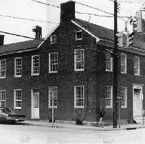 Image of Photo0139.jpg - Morrison house on corner of Liberty and Market St. in Harrisonburg, built 1820-1824