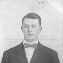 Image of Photo0143.jpg - Harold Hausenfluck in bow tie with suit jacket and white shirt