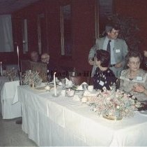 Image of Photo0145.jpg - 1992 Annual spring banquet -the front table HRHS.