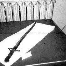 Image of Photo0072.2.jpg - English artillery rifle model bayonet