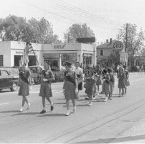 Image of Girls Scouts Marching
