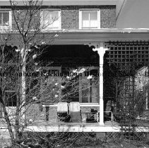 Image of Photo0052.jpg - Porch of house on West Water St., Harrisonburg