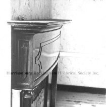 Image of Photo0058.jpg - Fireplace and mantle of Morrison House,  1960-1981