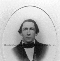 Image of Photo0064.jpg - Oval framed photograph of Ephraim Ruebush
