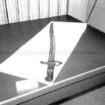 Image of Photo0072.1.jpg - English artillery rifle model bayonet