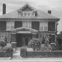 Image of Photo0100.jpg - Two story brick house with attic rooms at the top