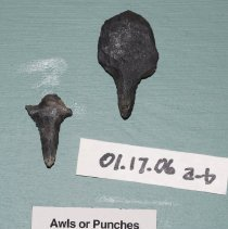 Image of 01.17.06 a,b - Two awls or punches