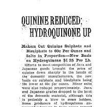 Image of price of quinine reduced, 1921