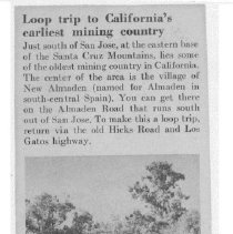 Image of Loop trip to California's earliest mining country