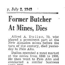 Image of Obituary, Alfred A. Dulion