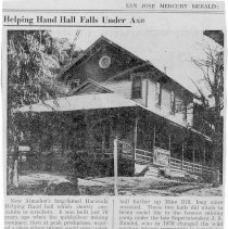 Image of Helping Hand Hall succumbs to wreckers, 1940