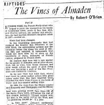 Image of The Vines of Almaden, 1950