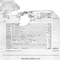 Image of Account balances October, 1911