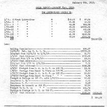 Image of Mercury flask sales January, 1912