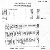 Image of Mercury sales July, 1912