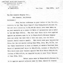Image of New Almaden Company Inc. (NY) July 13, 1916
