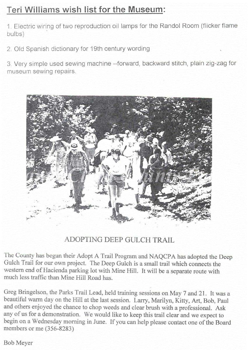 1997.2.2643 - Newsletter