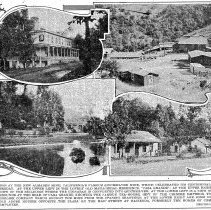 Image of New Almaden, World's second largest Quicksilver mine, 1923