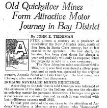 Image of King Quicksilver, news article 1927