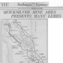 Image of Quicksilver Mine Area Presents Many Lures, 1936